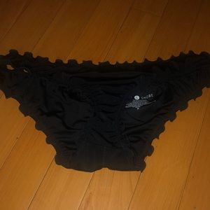 Other - Black scrunchy bathin suit bottoms never worn